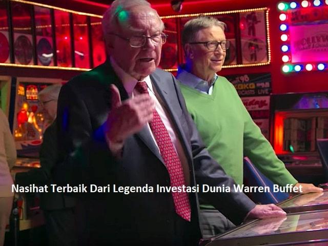 Nasihat Terbaik Dari Legenda Investasi Dunia Warren Buffet2